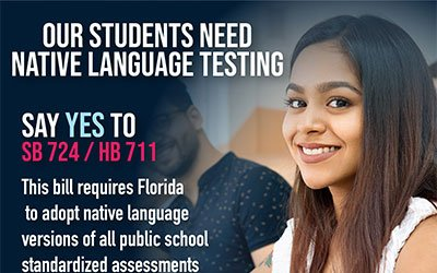 Let's Do What Is Right For Florida's English Language Learning Students